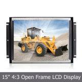 """"""" 4:3 15 geöffneter Rahmen LCD-Bildschirmanzeige für das Bekanntmachen, industriell, medizinisch"""