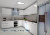 MDF rosso Kitchen Cabinet per Wooden Furniture (personalizzato)