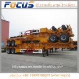 La Chine 3 essieux 40FT squelette semi-remorque pour la vente