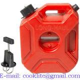 3L 휴대용 Jerry는 플라스틱 연료 탱크 휘발유 ATV UTV 기관자전차 또는 차를 가스를 발산할 수 있다