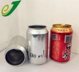 Couleur personnalisée de l'impression de la bière en aluminium vides peuvent 330ml