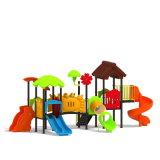 Parque Infantil exterior de plástico para crianças e crianças (JYG-15035)