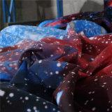ギャラクシー夜空のコレクションのMicrofiberのホーム織物の寝具セット