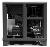 AC Rotary lubricado compresor de aire con inversor