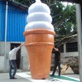 Aufblasbare bekanntmachende Eiscreme