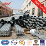 110kv電気送電線のための鋼鉄電信柱