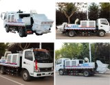 China fêz a motor Diesel caminhão pequeno/médio Diesel Isuzu montado transportar a bomba do misturador concreto do chassi