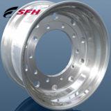 トラックのアルミ合金の車輪の縁の工場は車輪の縁を造った