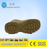 Pattini di cuoio gialli del deserto di sicurezza dell'esercito tagliati metà calda di vendita