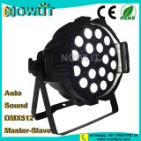 18 uds. de 10W RGBW 4en1 Interior LED PAR puede Luz PAR