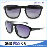 Óculos de sol plásticos das senhoras do estilo o mais atrasado do projeto personalizado polarizado