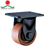 Nylonfußrollen mit niedrigem Schwerpunkt 280 Grad-Hochtemperaturfußrollen-Rad