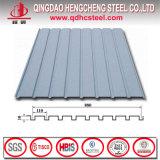 SGCC a enduit la feuille d'une première couche de peinture ondulée galvanisée pour la toiture