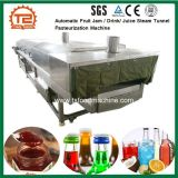 Pasteurisierung-Sterilisation-Zeile pasteurisierenmaschinen-Sterilisator für Glasgläser