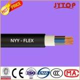Nyyケーブルの低電圧PVC絶縁体ハウジングのインストール銅ケーブル