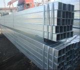 Beschichtetes galvanisiertes quadratisches Stahlrohr des Baumaterial-Q235 Zink/Gefäß