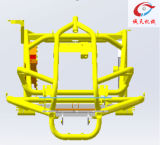 粉のコーティングが付いている動力工具フレームATVの部品