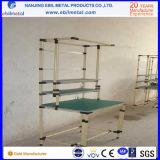 Sistema DIY Prateleira de tubos revestidos de plástico com alta capacidade / baixo custo