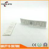 Tag da lavanderia da freqüência ultraelevada RFID de matéria têxtil para o hotel/fábrica/gerência de varejo