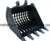 Cubeta da máquina escavadora da maquinaria movente de terra mini que inclina peças sobresselentes da cubeta