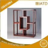 Хлопните вверх подгонянная стойка индикации рекламирующ шкаф деревянного меламина стеклянный для косметики/игрушек/ювелирных изделий с замком
