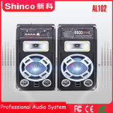 Shinco 10 '' *2 Bluetooth drahtloser professioneller aktiver Multifunktionslautsprecher