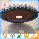 China-Fabrik-anti-abreibendes Plastikkegelradgetriebe mit Messing-/Stahllagerbeschlag