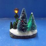"""수지 크리스마스 Decoration4는 """" 크리스마스 나무와 램프를 가진 성가대 장면을 지도했다"""