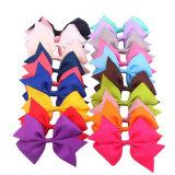 Artesanía de coser Ribbon Bow Flor para niñas vestir