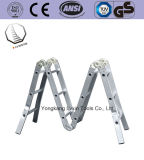 5m Non-Slip алюминиевый универсальный лестницы