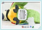 電子動物のおもちゃを話している詰められたオウム