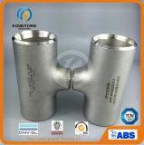 セリウム(KT0035)が付いているティーWp304/304Lの管付属品を減らすステンレス鋼