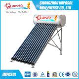 Chauffe-eau solaire préchauffé à haute pression de bobine de cuivre