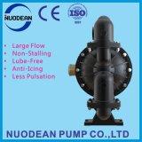"""3"""" de aluminio de gran caudal de accionamiento neumático bomba de diafragma doble"""
