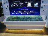 55inch 2*2 che impiomba la parete trasparente del video dell'affissione a cristalli liquidi