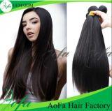 Trama brasileira do cabelo humano de Remy do cabelo do Virgin de Stright da alta qualidade