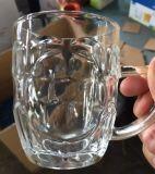 Commerce de gros de la classe d'alcool Bière chaude tasse tasse en verre avec une haute qualité de la Verrerie Sdy-J00200