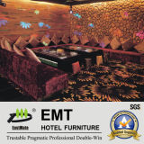 새로운 Hotel Disco Leisure Furniture Night Club 또는 Bar Sofa Set (EMT-KTV08)
