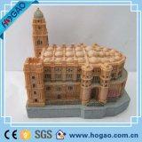 Le Château de polyresin ou de résine pour la décoration d'accueil