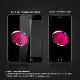 La dureté de la qualité 9h Anti-Rayent la glace Tempered incurvée pour le protecteur d'écran de l'iPhone 7