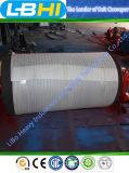 Polia retardada/polia de aço da polia para o transporte de correia (diâmetro 1250mm)