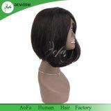 ボブ様式の自然なブラウンのバージンの人間の毛髪のよい女性の毛のかつら
