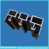 L'extrusion de profilés en aluminium avec la différence de formes et de traitement de surface