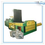 Machine de rebut hydraulique de presse de bidon en aluminium de rebut
