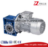 Para diminuir a rotação da engrenagem helicoidal de alumínio com motor