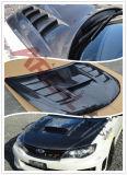 A fibra de carbono Varis capô estilo para o Subaru Impreza 10
