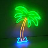 2D Palm Tree Néon led murale pour la maison d'éclairage de nuit Decoraton