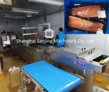 自動水平の適用範囲が広いThermoformingのストレッチ・フィルムの食糧サーモンピンクの真空パックのパッケージのパッキング包装機械(DZL)