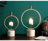 ホーム装飾のためのMorder様式の金属の蝋燭ホールダー