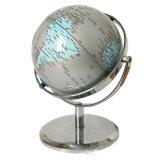 Le métal 14,2 cm HD Globe PVC d'enseignement